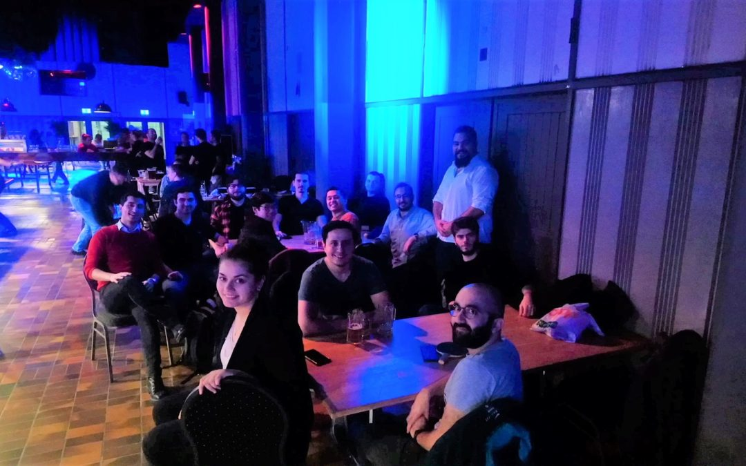 Buluşma: Ping Pong Lounge, Zürih