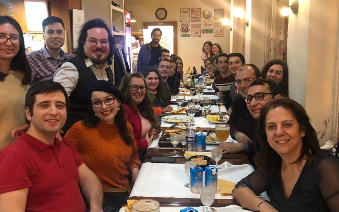 Tanışma Yemeği, Lozan